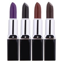 Lipstick Design Non-toxic Hair Color Pen Fast Temporary Hair Dye Chalk Pencils Hair Salon Tint Pen 4 Colors Optional(China)