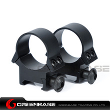 Greenbase 30mm Scope Rings Picatinny Rail Scope Mount Rifle Scope Mount For Firing Weapons Black