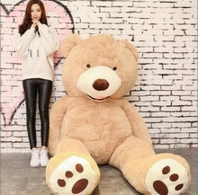 130cm The American Giant Bear Skin Animal High Quality kids Toys Birthday Gift Valentine's Day Gifts for women