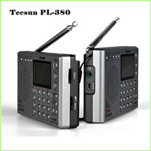 Tecsun PL-380 Digital ETM DSP Portable PLL Radio FM Stereo/LW/SW/MW World Receiver Tecsun pl380, Freeshipping, Retail, Wholesale