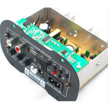 "Audio power amplifier board DA2009 Muscle car subwoofer amplifier board card USB remote control 12 v24v220v S7 for 8"" horn"