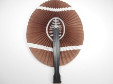 [ Fly Eagle ] RUGBY PAPER FOLDING HAND FANS FLORAL ORIENTAL FANCY DRESS PARTY BAG FILLER
