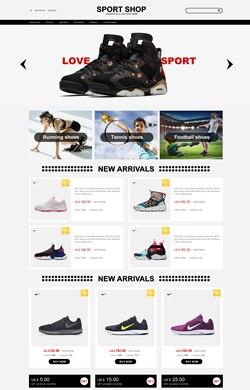 ♥雅集设计♥运动鞋 户外用品 三色模板L55