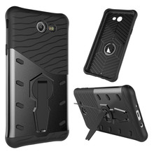 TopArmor For Samsung Galaxy J7 2017 J730 US Version Case Shock proof 360 swivel bracket Phone shell Netted Armor Phone Cover(China)