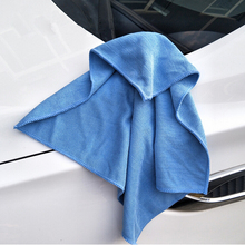 40*40 cm Car Wash Towel Soft Microfiber Car Cleaning Cloth Paint Care Auto Wax Polishing Detailing Car-styling
