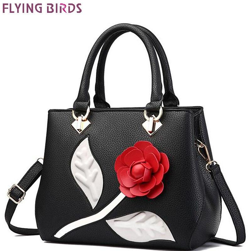 FLYING BIRDS leather handbags women bags designer luxury woman messenger bags handbag fashion female bolsas purse new LM4342fb<br>