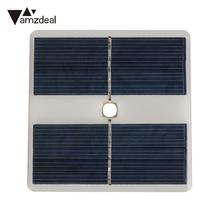 Amzdeal Portable 10 LED 5V 0.55W Polysilicon Solar Panel Supply Power Polysilicon Camping Outdoor Sports Lamp Light Solar Cells
