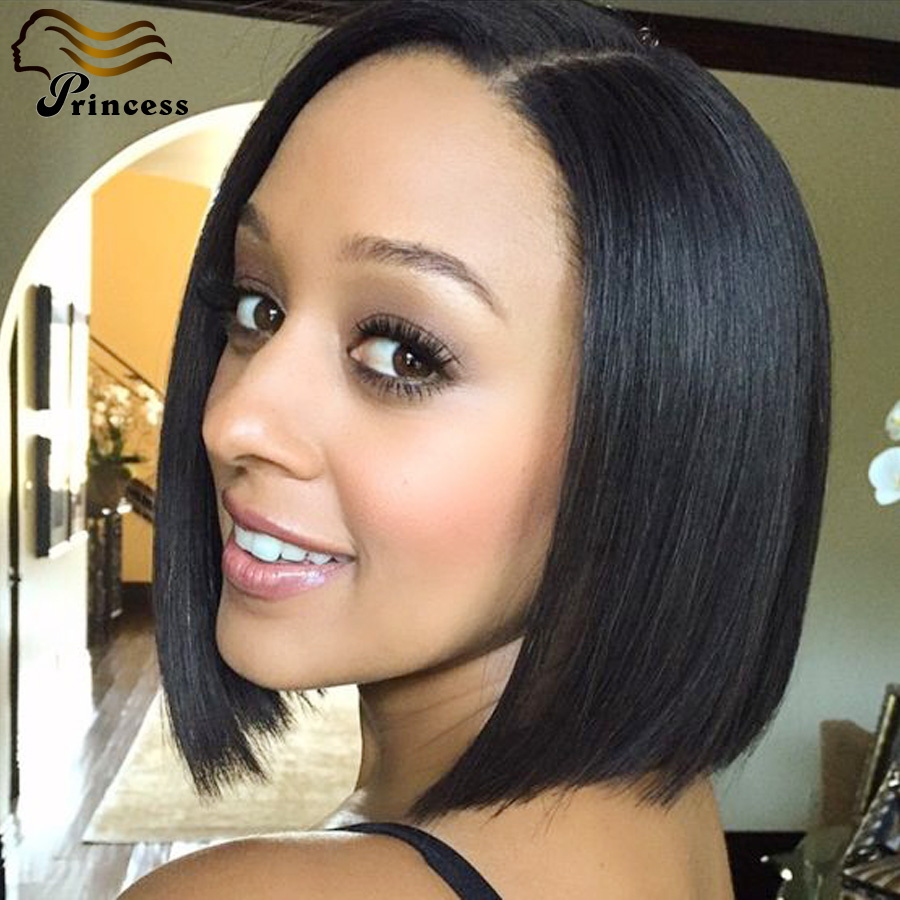 Cheap Bob Human Hair Wig Straight Brazilian Short Human Hair Wigs For Black Woman Glueless Lace Front Human Hair Wigs Free Ship<br><br>Aliexpress