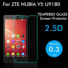 9H 2.5D Explosion Proof Premium Tempered Glass Screen Protector Film for ZTE Red bull V5 V9180 N9180 U9180 ZTE V5s 5.0 inch