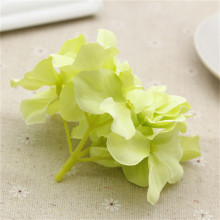 2PCS New 8 Colors Length Silk Artificial Hydrangea Flower For Home Wedding Party Decoration DIY Wreath Scrapbooking Flower