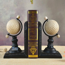 European Golf Bookends ornaments personality birthday gift study desk bookcase decoration decoration