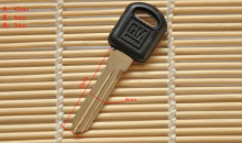 Free shipping  Blank Transponder Key Shell  key case key cover For Buick For GM