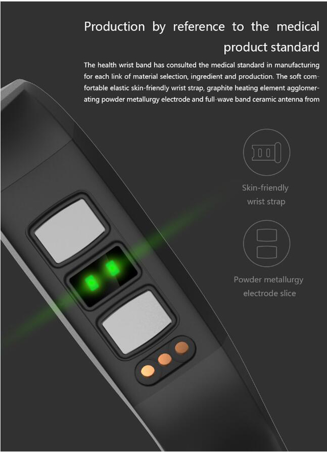 CD01 Graphene ECG HeartRate Blood Pressure Smart Bracelet for iphone Android Sleep Pedometer Activity Tracker Call SMS Reminder 15