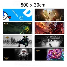 Locked Edge Ultra-large Mouse Pad Large Desk Pad Keyboard Pad Table Mat Big Mouse Pads 80x30cm