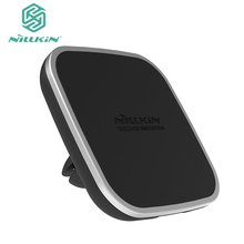 NILLKIN MC015 5V 1.5A Qi Wireless Charger Multifunctional Car Magnetic Phone Stand Holder Charging For Sumsang For Android