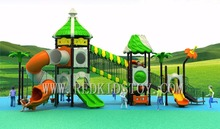 Exported to Uzbekistan Quality Warranted TUV Approved School Playground Set for Children 2016HZ-L003