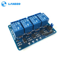 Free shipping 4 channel relay module 4-channel relay control board optocoupler. Relay Output 4 way relay module arduino