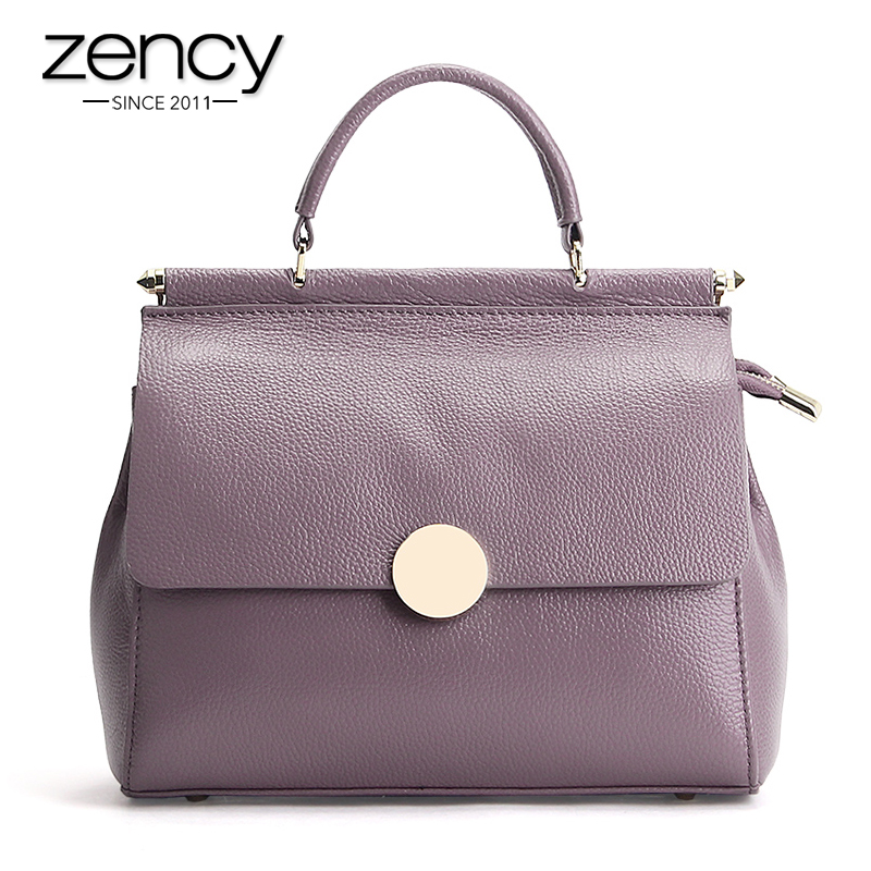 6Cls New Fashion Lock 100% Genuine Leather Womens Handbag Ladies Tote Bags Crossbody Messenger Bag Satchel Purse Bolsa Feminina<br><br>Aliexpress