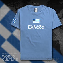 Greece mens t shirts fashion 2017 jersey nation team cotton t-shirt meeting fitness brand clothing tees country flag The Greek(China)