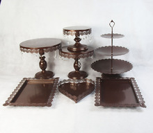 7 pieces cake stands cupcake stand decorating cooking cake tools bakeware set party dinnerware