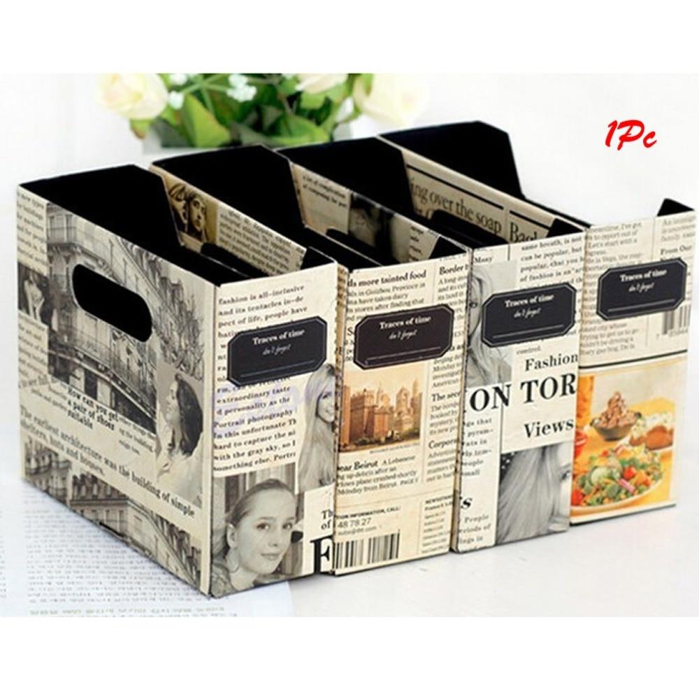 Как сделать коробочку из журналов