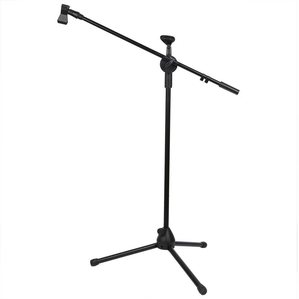 Tripods Metallic Microphone Double-headed Shock Mount Clip Holder Stand Radio Studio Sound Recording Bracket Black Professional<br><br>Aliexpress