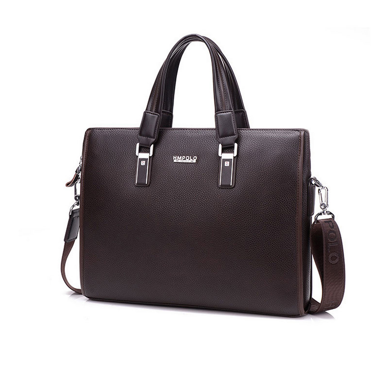 2016 New Man Handbag Genuine Leather Business Messenger Bag Men Computer Shoulder Bag delicate ad luxurious maleta briefcase<br>