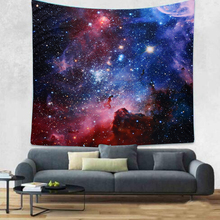 Starry Sky Pattern Digital Printing Tapestry Thickening Home Wall Hanging Decoration Sofa Beach Bath Towel(China)