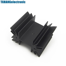 35x42x25.4mm IC Aluminum Heat Sink Cooling Fin For Module Mosfet Transistors