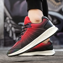 Men Tennis Shoes 2017 New Winter Sneakers for Men Gym Sport Shoes Tenis Masculino Stability Athletic Trainers Ultra Fitness Red(China)