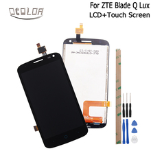 "ocolor For ZTE Blade Q Lux 4G 3G LCD Display+Touch Screen 4.5"" Screen Digitizer Assembly Replacement+Tools For ZTE Blade Q Lux(China)"
