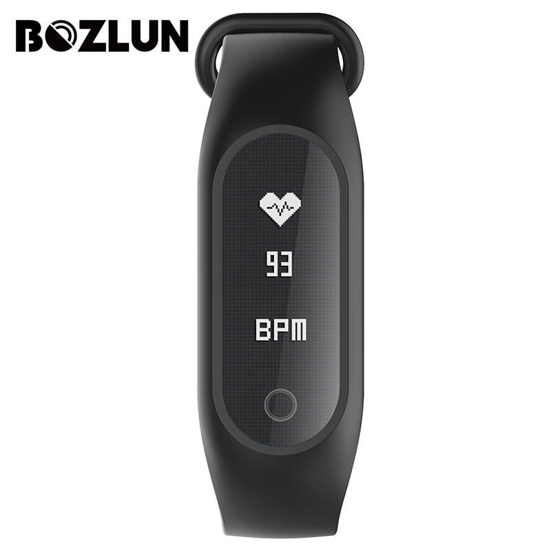 BOZLUN Smart Watch Women Fitness Heart Rate Monitor Men Smartwatch Ladies Wristband LED Digital Wristwatch For Android IOS B15SH<br>