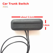 Factory price For Chevrolet Cruze (Sedan) 2009-2014 Trunk Switch With Wire Trunk Button Switch In Black Car Boot(China)