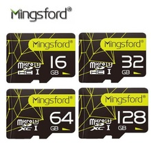 Mingsford High Speed 16G 32G 64G 128G SD TF Memory Card Flash SD Card Class10 Storage Expansion for Smartphone Camera(China)