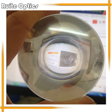 2PCS 100mm Square Plastic Fresnel Condensing Lens Focal Length 40mm for Plane Magnifier,Solar Energy Concentrator