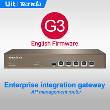 Tenda G3 Enterprise Business Router,Enterprise Integration Security gateway,Mutil-WAN Port,AP Management,QoS,VPN,