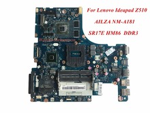 Hot Sale And High Quality Product For Lenovo Ideapad Z510 Laptop Motherboard AILZA NM-A181 SR17E BD82HM86 DDR3 100% Tested
