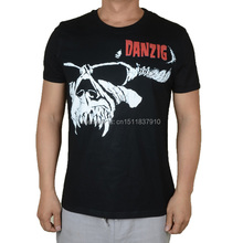 Darkrai 12 designs vintage Danzig Rock Brand shirt mma fitness Hardrock heavy Dark Metal Punk Cotton skateboard Streetwear(China)