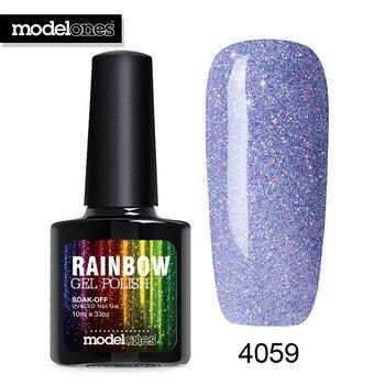 Modelones 1Pcs 10ml Colorful Neon Nail Gel UV Gel Soak Off UV Color Gel Nail Polish Color Nail Art Gel