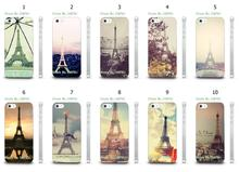 Mobile Phone Cases Wholesale 10pcs/lot Eiffel Tower Design Protective White Hard Case For Iphone4 4S Cases