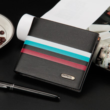 Free shipping new stylish Mens genuine cow Leather Wallet Pockets Card Clutch Cente Bifold Purse,drop shipping WMB40