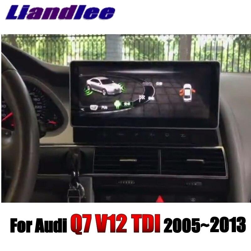 Liandlee Car Multimedia Player NAVI For Audi Q7 V12 TDI 2005~2013 Original Car System inch Radio Stereo GPS Screen Navigation 3