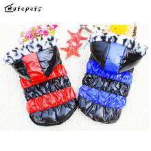 Dog Jaket Winter Warm Overalls Pet Clothing Pet Products Domestic Dog Clothes(China)