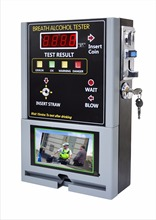 Alcohol tester for bar use/alkohol tester with video/ breathalyzer machine for bar /restaurant /hotel in russia