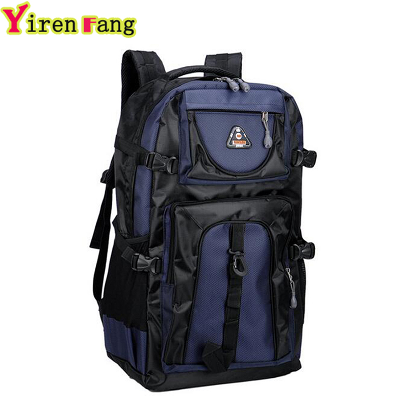 Hot sale 2017 60L High-capacity Leisure Big Backpack Men Women Fashion Light Backpack To Travel Waterproof Student schoolbag<br><br>Aliexpress
