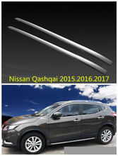 For Nissan Qashqai 2015.2016.2017 Car Roof Racks Luggage rack High Quality New Aluminium Paste Installation Auto Accessories