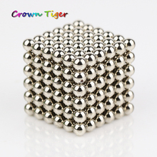 216pcs magnetic buck balls 3mm Magic DIY toy kids Puzzle toys Cubo Neo Cube neodymium Magnet Block Decompress educational tool