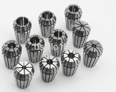 New set 12pcs ER20(2-13mm)Precision ER20 collet for CNC ER20 Toolholder<br>