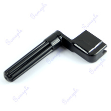 New Acoustic Electric Guitar String Winder Peg Bridge Pin Tool Plastic Black(China)