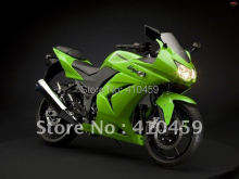 Motorcycle Fairing kit for KAWASAKI Ninja 250R 08 09 10 11 12 ZX 250R 2008 2010 2012  ZX 250 R EX 250 Green black Fairings set